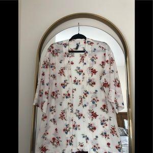 NWOT H&M Floral Kimono